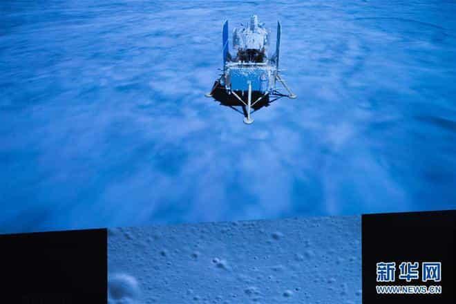 嫦娥五號成功落月,將工作兩天,鉆2米取土